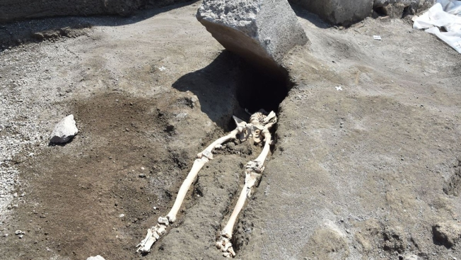 New Pompeii Find Shows Man Crushed by Stone While Trying to Flee Eruption