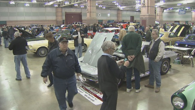 Car Restorers Enjoy Classics In Atlantic City Car Show NBC - Atlantic city car show