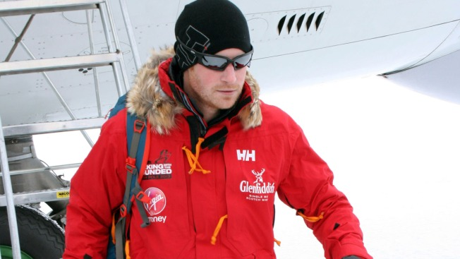 Prince Harry's South Pole Race Curtailed