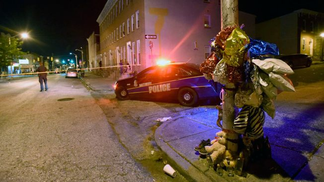 3 Gunmen Injure 8 People in Baltimore Attack: Police