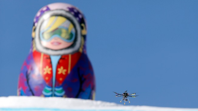 Sochi Drone Shooting Winter Olympics TV, Not Terrorists
