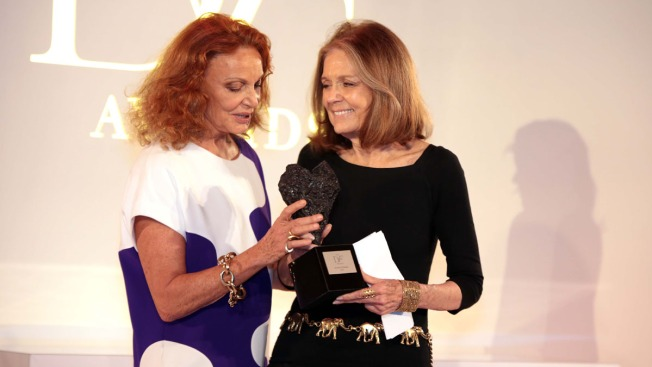 Gloria Steinem Honored With Annual DVF Award