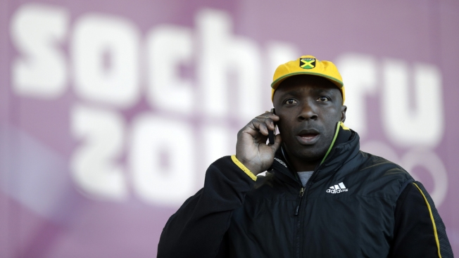 Jamaican Olympic Bobsled Team Without Equipment in Sochi