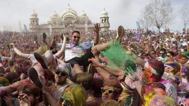Tens of Thousands Attend Utah Holi Color Festival