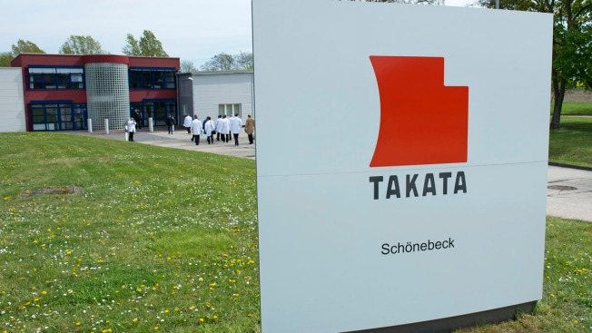 Takata Declares 33.8 Million Air Bag Mechanisms Defective, Doubling Size of U.S. Recall