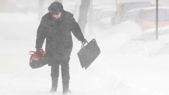 Nor'easter Intensifies, Will Dump 6'' by 6 a.m.