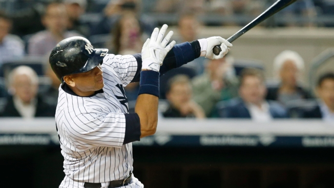 A-Rod Hits HR No. 661 to Pass Mays for 4th