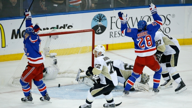 2015 NHL Playoffs: Rangers Advance on Hagelin's OT Goal, 2-1