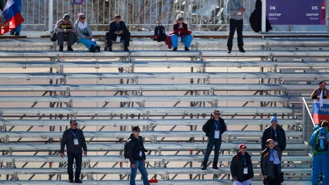 Fans Shun Sochi Over Bombs, Big Bucks, Bureaucracy