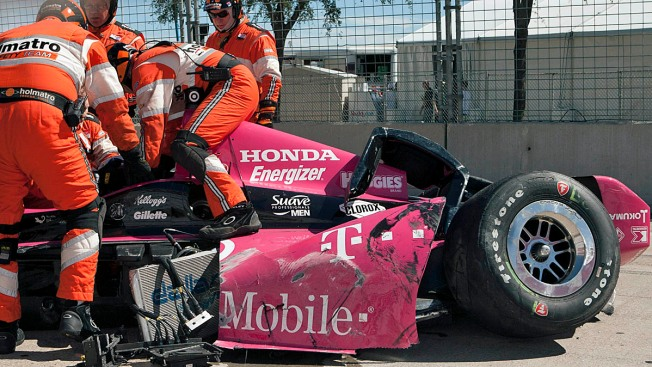 Dario Franchitti Leaves Houston Hospital After IndyCar Crash