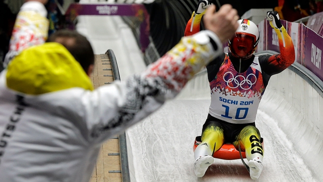 Germany's Felix Loch Defends Olympic Luge Gold