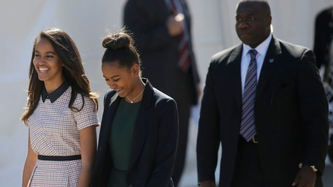 President Obama's Oldest Daughter Visits Colleges