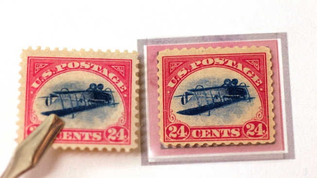 Most Famous US Stamp Stolen In 1955 To Be Returned NYC