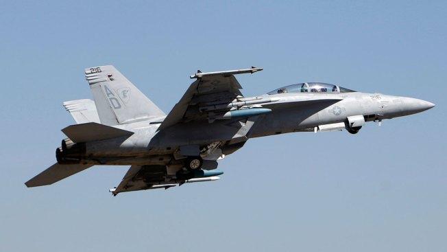 Pilot Dies When F-18 Crashes Near U.S. Base in England