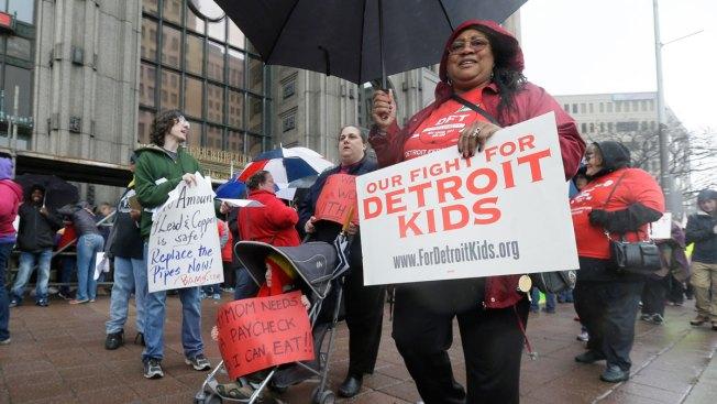Detroit Grapples With Teacher Sickouts, Water Shutoffs