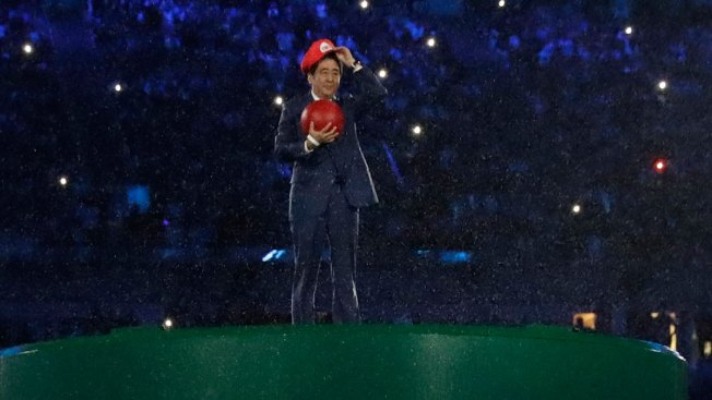 Japanese Prime Minister as Super Mario Ignites Social Media