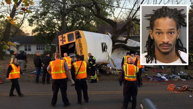 Chattanooga Students, Principal Warned About Erratic Driving Before School Bus Wreck