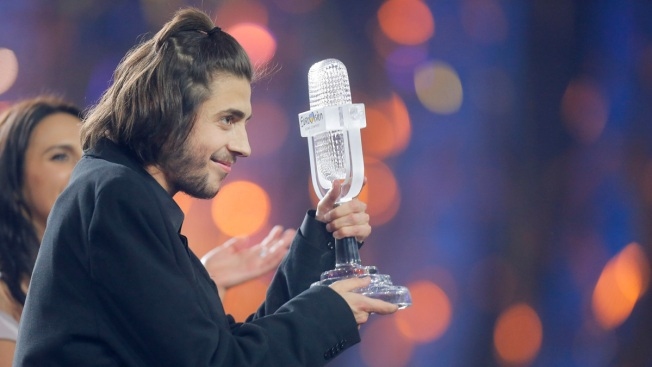 Portugal's Sobral Wins Eurovision Contest With Tender Ballad