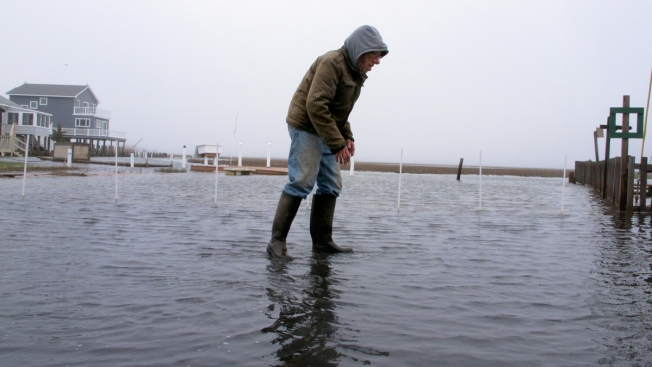 New Jersey Seas Flooding, More Likely Every Year