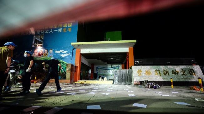 Seven killed after explosion at Chinese kindergarten