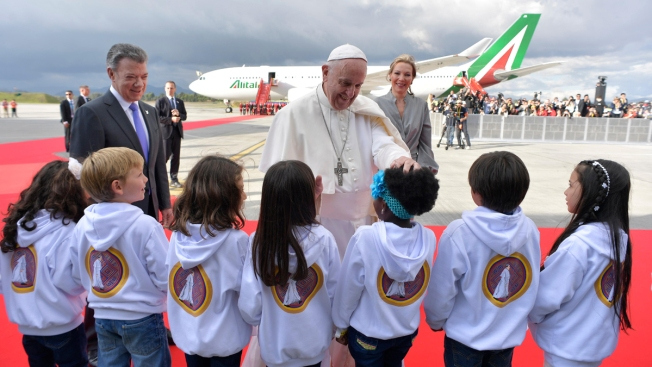 Pope Urges Forgiveness in Colombia After Decades of Conflict