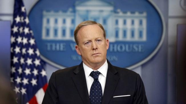 Sean Spicer 'Taken Aback' by Man's Claim He Used Racial Slur