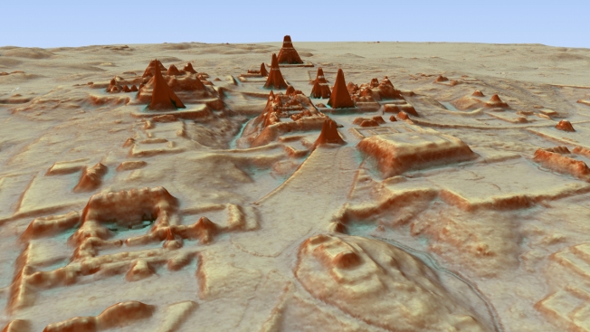 Scientists Find Massive Mayan Society Under Guatemala Jungle