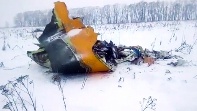 Airliner Crashes Near Moscow After Takeoff; 71 Presumed Dead