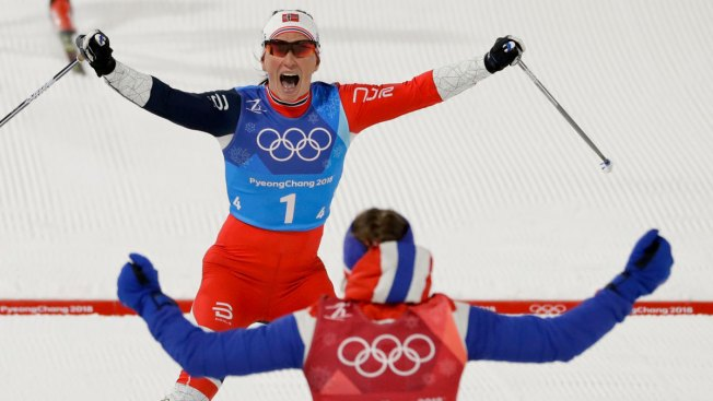 With 13th Medal, Norway's Bjoergen Is Most Decorated Winter Olympian