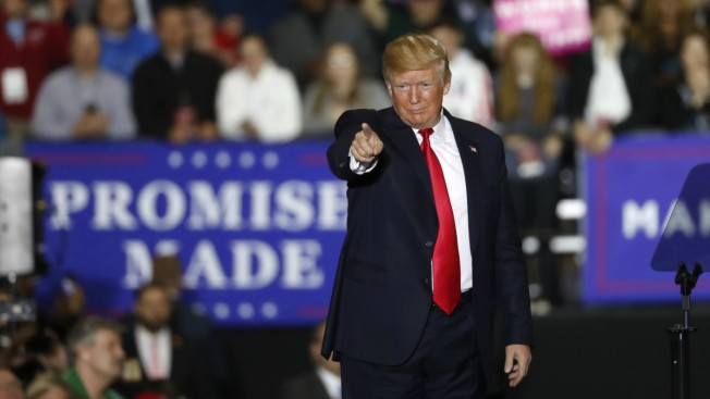 Trump Says He Relishes Enthusiasm, 'Love' at Michigan Rally