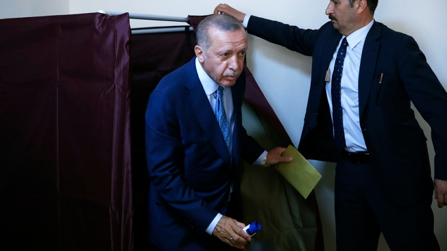 Erdogan Proclaimed Winner of Turkey's Presidential Election