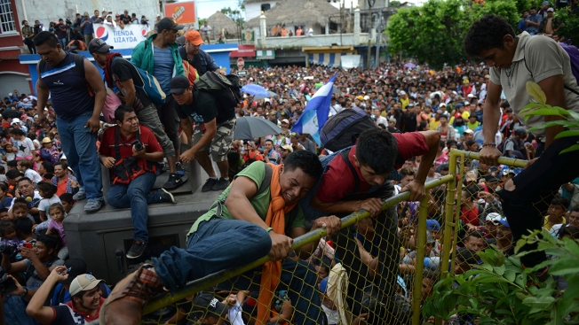 The Growing Migrant Caravan on Way to US Border, Explained