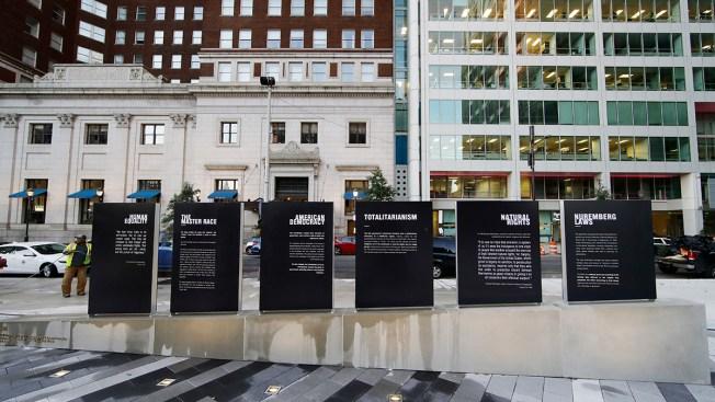 Philadelphia's New Holocaust Memorial Opens Amid Somber Ceremony