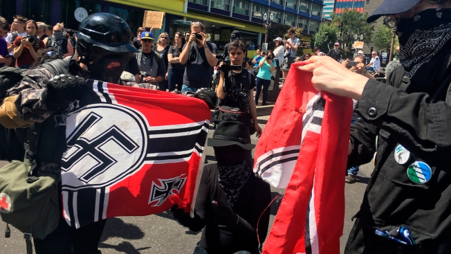 Portland Police Texts With Far-Right Group Spark Probe