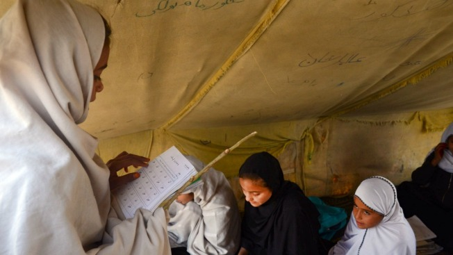Nearly Half of Afghan Children Don't Go to School: Report