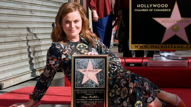 Amy Poehler Gets Star on the Hollywood Walk of Fame: 'I Never Imagined I Would Be Here'
