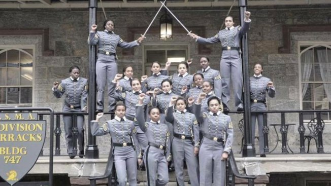 Cadets' Raised-Fist Photo Prompts Probe at West Point