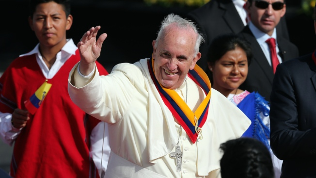 More Than 1 Million Attend Pope's Mass in Ecuador