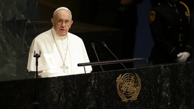 Pope Declares 'Right of the Environment' at U.N.