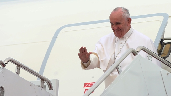 American Airlines Jet Christened Shepherd One to Carry Pope Francis on US Tour