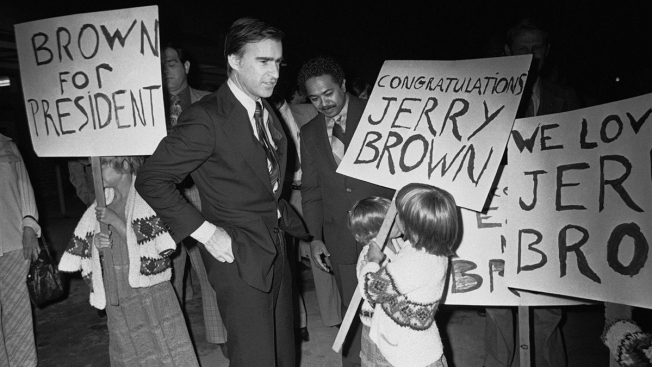 Jerry Brown Wraps a 5-Decade History in California Politics