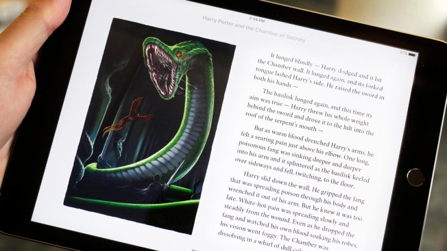 'Harry Potter' E-Books Come to Life in New Apple Edition