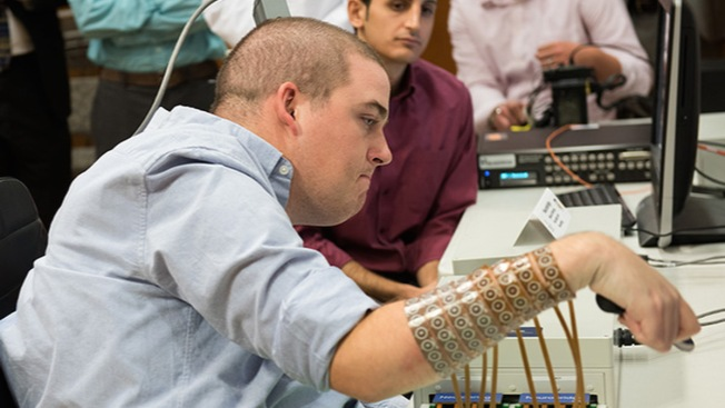 Brain Implant Lets Paralyzed Man Regain Use of Hand