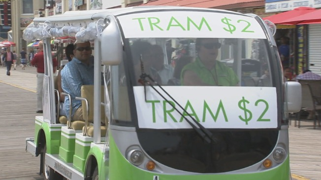 Atlantic City Trams Now Charging 18-Cent Luxury Tax on Rides