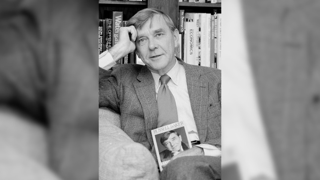Russell Baker, Author and NY Times Columnist, Is Dead at 93