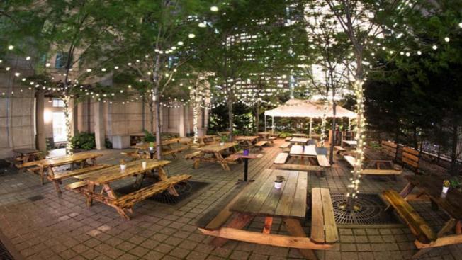 Uptown Beer Garden Returns for 3rd Year