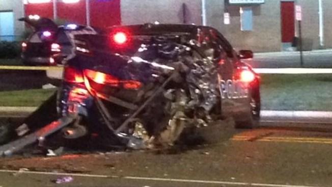 2 Police Officers Hurt in NJ Car Crash - NBC 10 Philadelphia