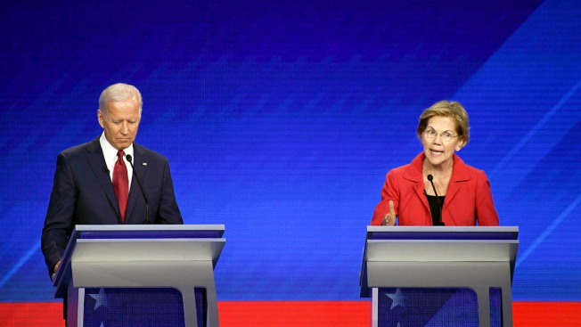 Warren's Support Grows, Biden Still Leads Dem 2020 Primary Field: NBC/WSJ Poll
