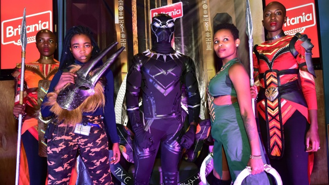 Tears, Exuberance as 'Black Panther' Opens Across Africa