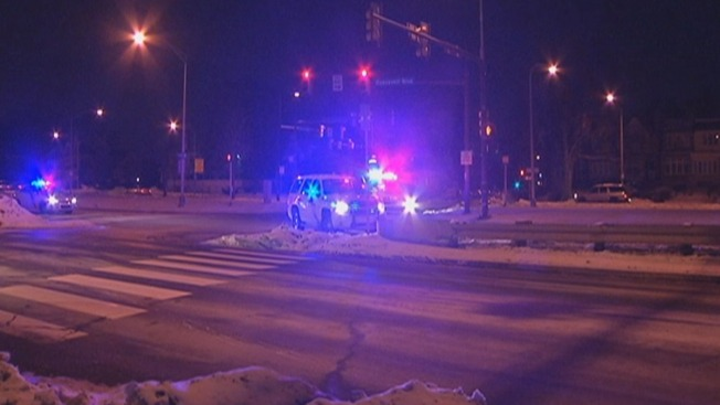Man Struck by Car After Running Onto Boulevard